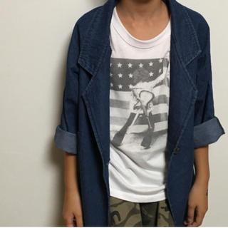ザラキッズ(ZARA KIDS)のデニムジャケット*キッズ*XXL*韓国服(ジャケット/上着)