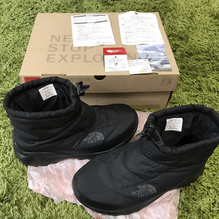 ザノースフェイス(THE NORTH FACE)の美品 ノースフェイス ヌプシ ブーティ ショート丈 25cm(ブーツ)