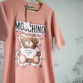 モスキーノ(MOSCHINO)のMOSCHINO可愛いテディベアPLAYBOYTシャツ(Tシャツ(半袖/袖なし))
