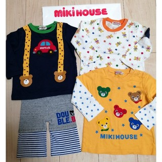 mikihouse - 可愛い!MIKIHOUSEミキハウス◆コーデ4点セット◆80センチ