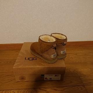 アグ(UGG)のUGG ムートン ショート ブーツ アグ classic Miniチェスナット(ブーツ)