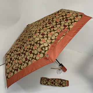 コーチ(COACH)の【新品】COACH コーチ 折りたたみ傘(傘)