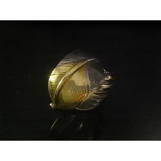 ゴローズ(goro's)のゴローズ 先金特大フェザーリング左巻き 11号~22 調節可能 (リング(指輪))