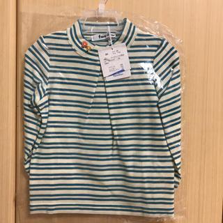 familiar - 新品ファミリアハイネックTシャツ長袖80cm