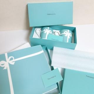 ティファニー(Tiffany & Co.)のティファニー ブルー ボックス マグカップ1箱 プレート1箱 セット(食器)