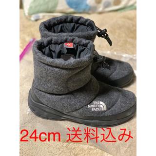 ザノースフェイス(THE NORTH FACE)のTHE NORTH FACE ヌプシブーティ- グレー  24cm(ブーツ)