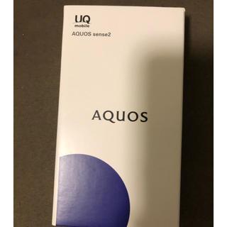 アクオス(AQUOS)のきじ丸様専用。AQUOS sense2 ピンクゴールド(スマートフォン本体)