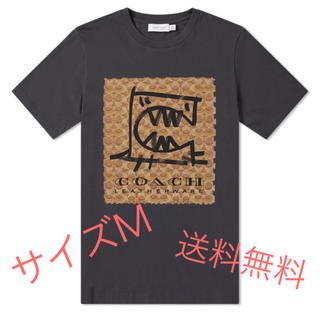 COACH - COACH REXY Tシャツ ブラック