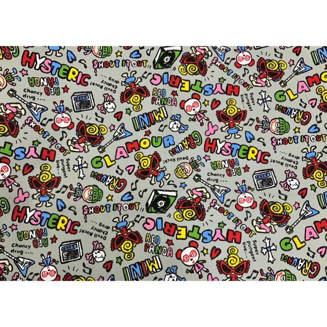 HYSTERIC MINI(ヒステリックミニ)のヒスミニ ☆新品☆生地☆100×100㎝☆ハギレ☆ハンドメイドに☆中厚☆綿 ハンドメイドの素材/材料(生地/糸)の商品写真