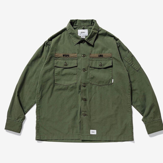 W)taps - WTAPS 19AW BUDS LS L RIPSTOP バッズ シャツ