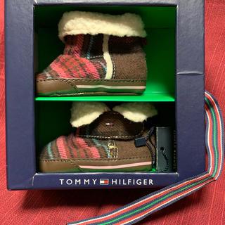 トミーヒルフィガー(TOMMY HILFIGER)のタグ付き未使用品 TOMMY HILFIGER ベビーブーツ(ブーツ)