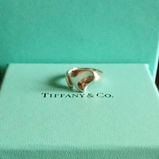 ティファニー(Tiffany & Co.)のティファニー カーブドリング(リング(指輪))
