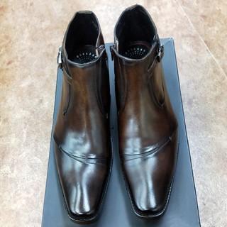 マドラス(madras)の121-2)24.5cm:新品マドラス紳士靴(ブーツ)