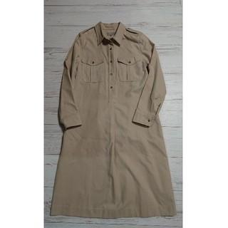 MARGARET HOWELL - マーガレット・ハウエル被せポケット付きシャツワンピース