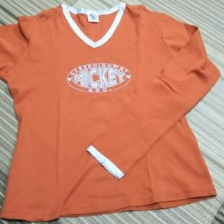 ミッキー 長袖Tシャツ(Tシャツ(長袖/七分))