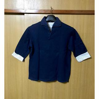 シップス(SHIPS)のシップス SHIPS メンズ マリンプルオーバー 切替袖カットソー(Tシャツ/カットソー(七分/長袖))
