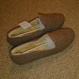 サマンサモスモス(SM2)の💮サマンサモスボアシューズ(ローファー/革靴)