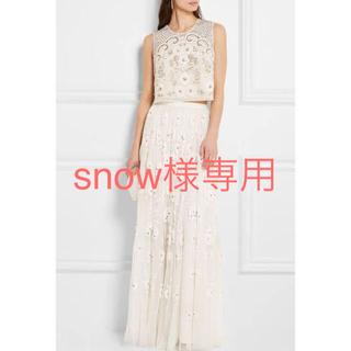 ヴェラウォン(Vera Wang)の新品‼︎needle&threadドレス スカート ヴェラ ウォンbhldn (ウェディングドレス)