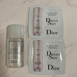 ディオール(Dior)のDIORエッセンスローション、乳液サンプル(サンプル/トライアルキット)