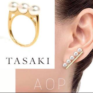 TASAKI - あいうえお様 バランスプラスピアス ゴールド両耳