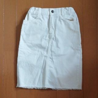 ジーユー(GU)のGU キッズ タイトスカート 120(スカート)