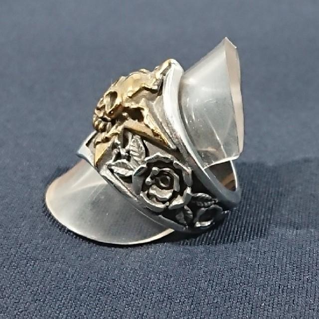 スカルスター#13 メンズのアクセサリー(リング(指輪))の商品写真