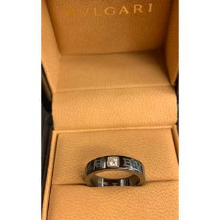 ブルガリ(BVLGARI)の試着¥20万品★ブルガリ★ブルガリブルガリ ダブルロゴ 1P ダイヤリング 52(リング(指輪))