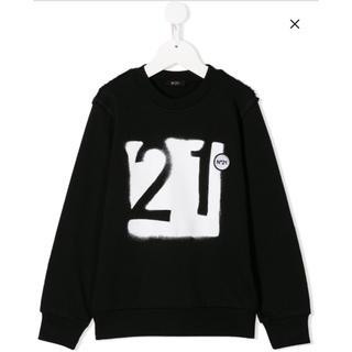N°21 - 【新品】ヌメロヴェントゥーノ N°21  ロゴ スウェット トレーナー 12A