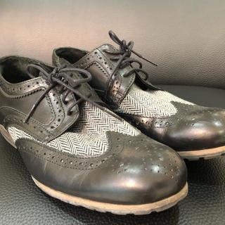 シップス(SHIPS)のSHIPS 革靴 27cm シップス ジェットブルー 靴(ドレス/ビジネス)