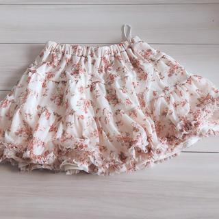 ハニーズ(HONEYS)の花柄スカート(ミニスカート)