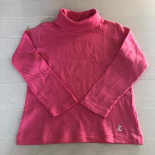 プチバトー(PETIT BATEAU)のプチバトー タートル カットソー 4ans 104(Tシャツ/カットソー)