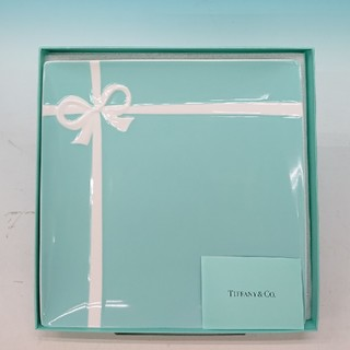 ティファニー(Tiffany & Co.)の未使用品 ティファニー ブルーボックス プレート(食器)