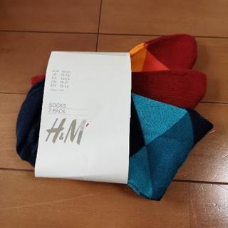 H&M - H&M 新品 靴下 3枚 セット 19センチ ~ 21センチ