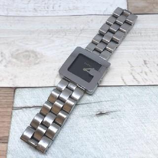 グッチ(Gucci)の電池交換済み【GUCCIグッチ】3600J レディース腕時計 黒文字盤 ボーイズ(腕時計)