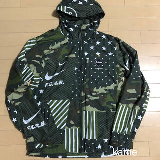 F.C.R.B. - 16SS FCRB NIKE WOVEN PRACTICE JACKET M