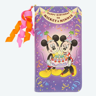 Disney - スマホケース バースデー ミッキー ディズニー