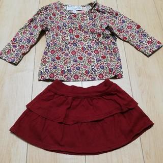 アニエスベー(agnes b.)のアニエスベー スカートサイズ1an トップス18mols(シャツ/カットソー)