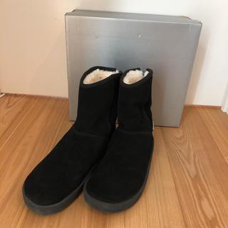 ドゥーズィエムクラス(DEUXIEME CLASSE)の美品 スイコック ムートンブーツ 26cm(ブーツ)