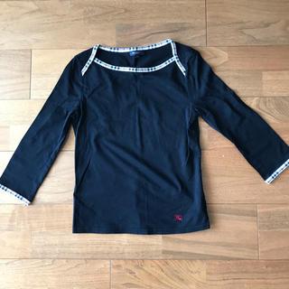 バーバリーブルーレーベル(BURBERRY BLUE LABEL)のバーバリーブルーレーベルのカットソー(Tシャツ(長袖/七分))