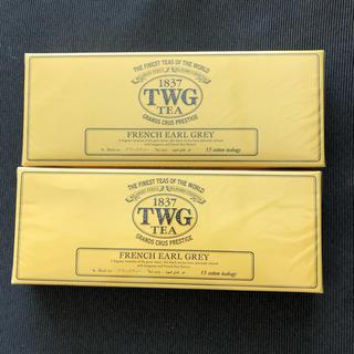TWG  FRENCH  EARL  GREY、 ティーバック15袋入り 2箱