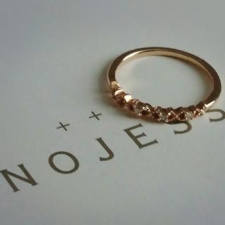 ノジェス(NOJESS)のノジェス k10 キスハグ リング(リング(指輪))