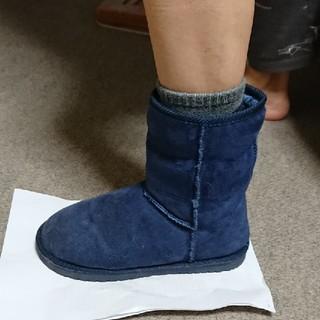 ムートン調ショートブーツ(ブーツ)
