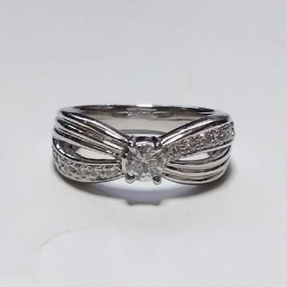 プラチナリング  Pt900  ダイヤモンド(リング(指輪))