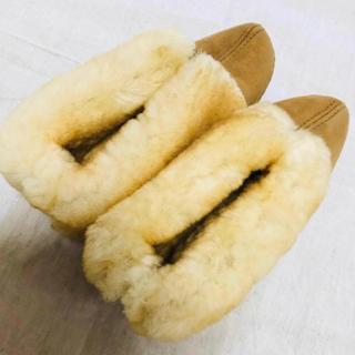 ミネトンカ(Minnetonka)のミネトンカ シープスキンアンクルブーツ(ブーツ)