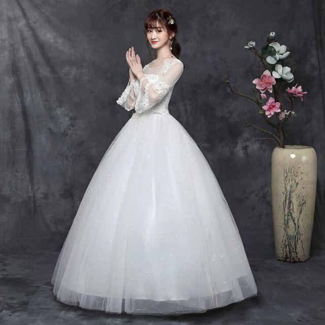 撮影 ウエディングドレス 結婚式 レディースのフォーマル/ドレス(ウェディングドレス)の商品写真