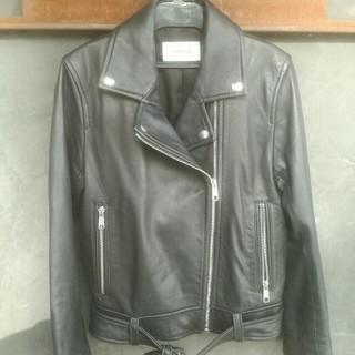 FRAY I.D - フレイアイディーライダースジャケット美品Mサイズブラック