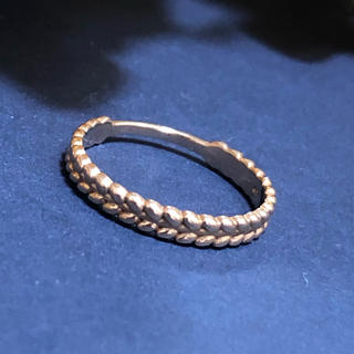 K10 ゴールド ライン リング(リング(指輪))