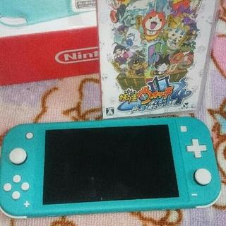 Nintendo Switch - お値下げ💴⤵ 任天堂スイッチライト妖怪ウォッチ4  任天堂switchライト