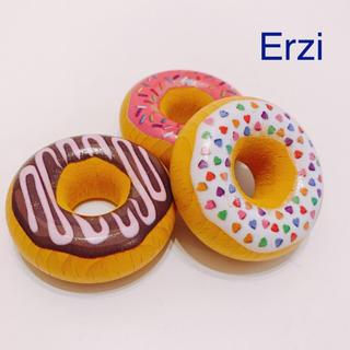 Erzi ドーナツ3種 木のおもちゃ 木のおままごと