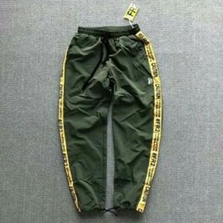 オフホワイト(OFF-WHITE)のFR2 Line Nylon Pants パンツ ラインイージーパンツ(その他)